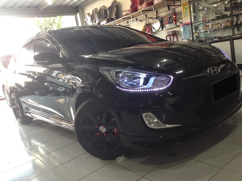 Modifikasi Velg Mobil Hyundai Grand Avega