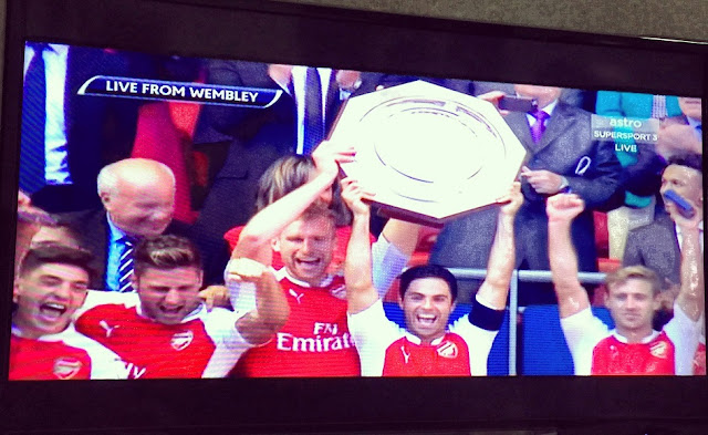 Arsenal winners of Community Shield 2015
