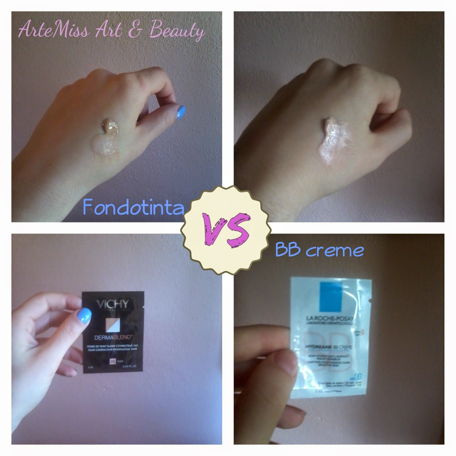 Fondotinta vs BB cream