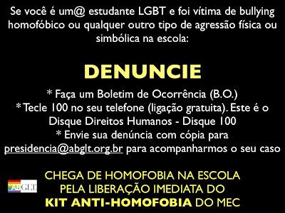 DENUNCIE SEMPRE!!!