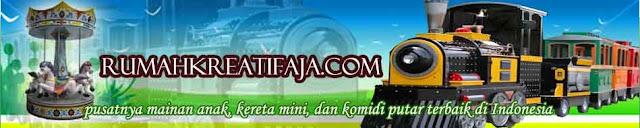 Produsen kereta mini, Kereta mall, dan Komidi putar terbaik di Indonesia