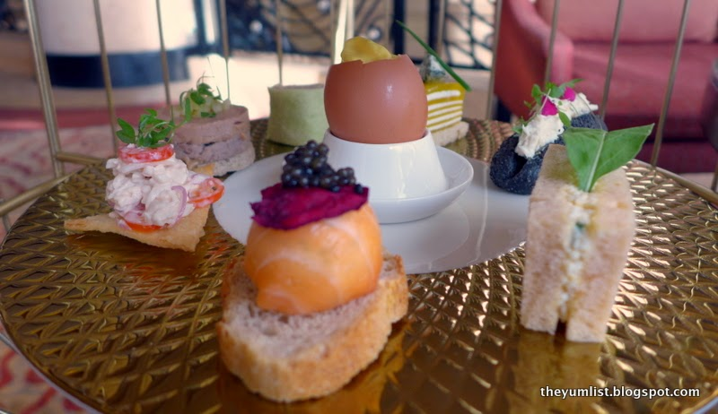Golden Birdcage Afternoon Tea, Lobby Lounge, Shangri-La Hotel Bangkok