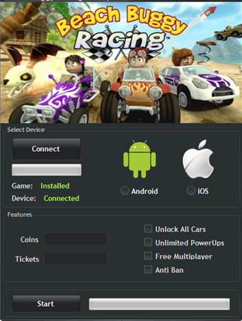 Beach-Buggy-Racing-Android-iOS-Hacked-Cheats-Tool