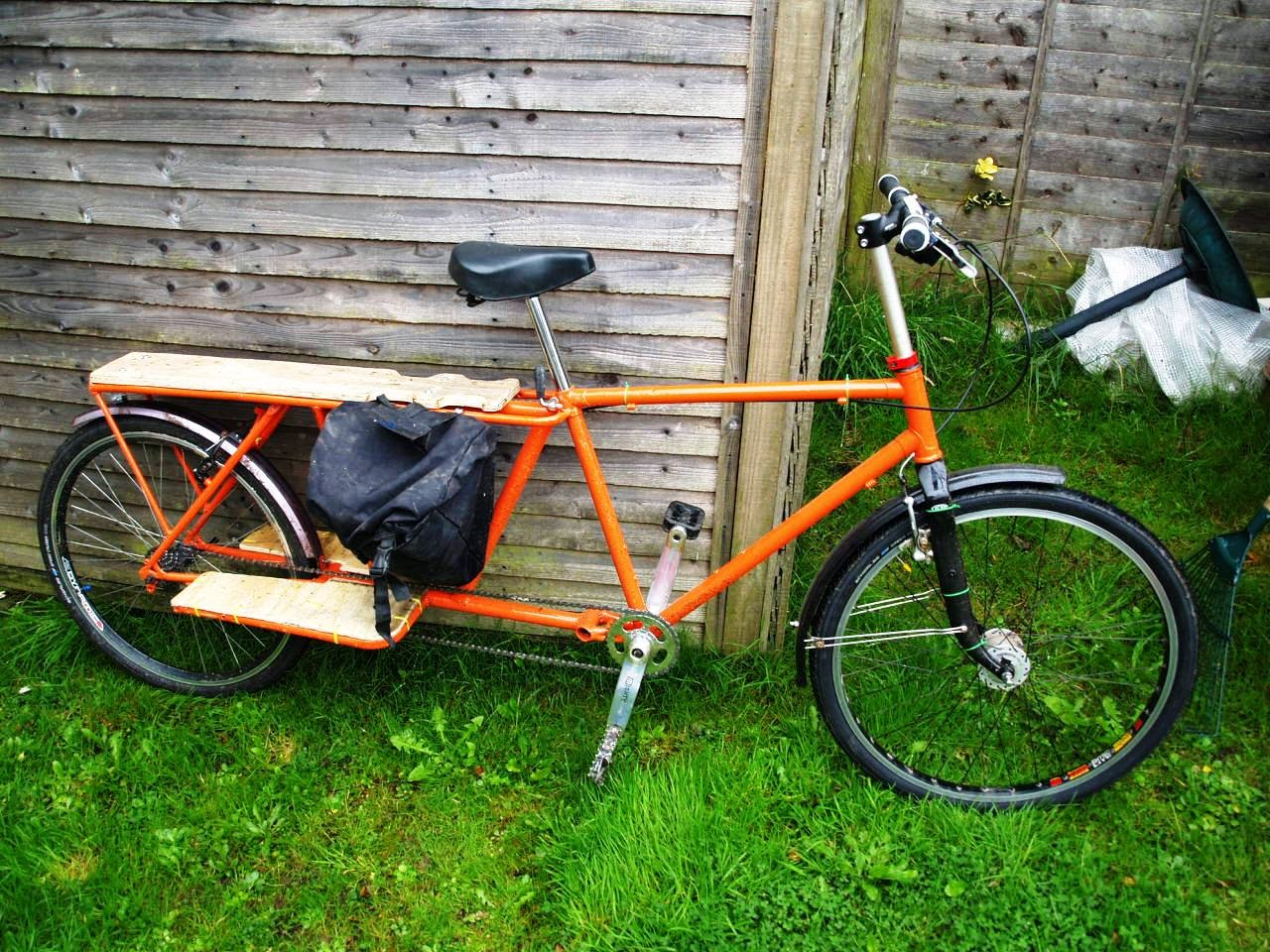 dorkythorpy: DIY Longtail Cargo Bike - Chapter 1