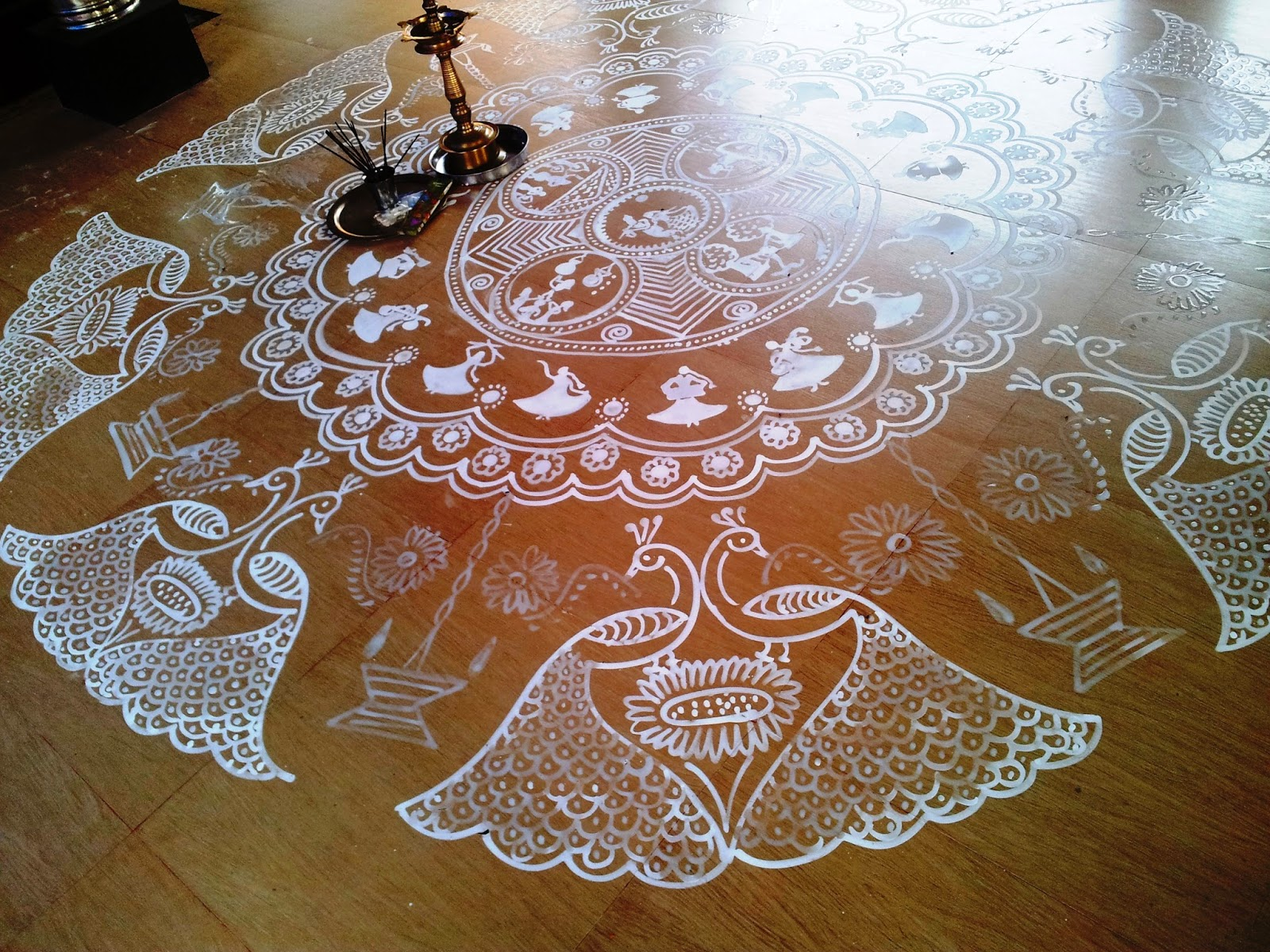 1000 images about rangoli kolam alpana on pinterest for Floor rangoli design