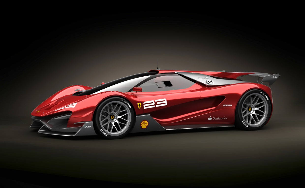 Design Concepts Wallpaper : Ferrari xezri design concept sports up and wears its