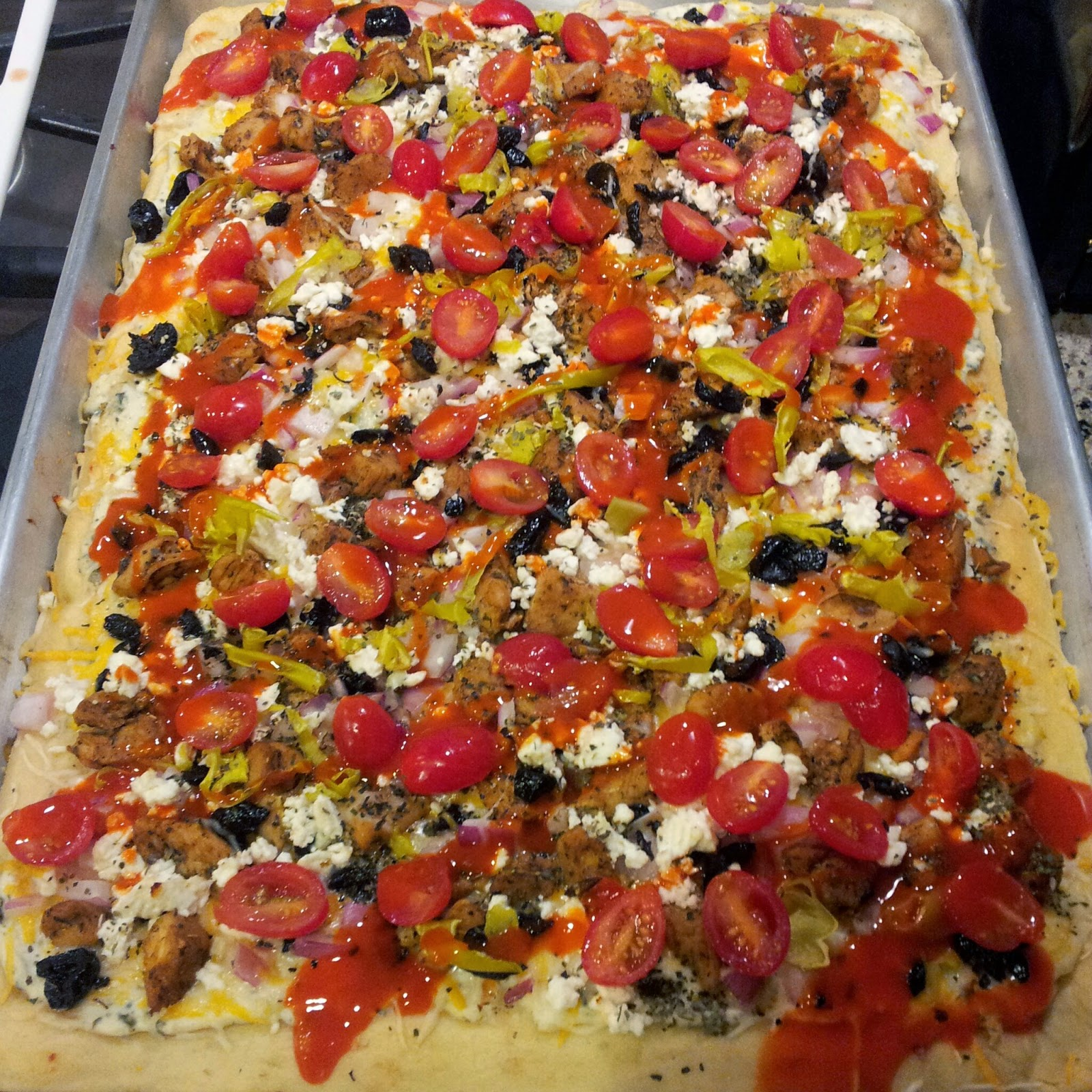 savvy chef greek pizza