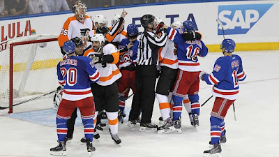 NHL: Flyers, Islanders Renew Patrick Division Rivalry