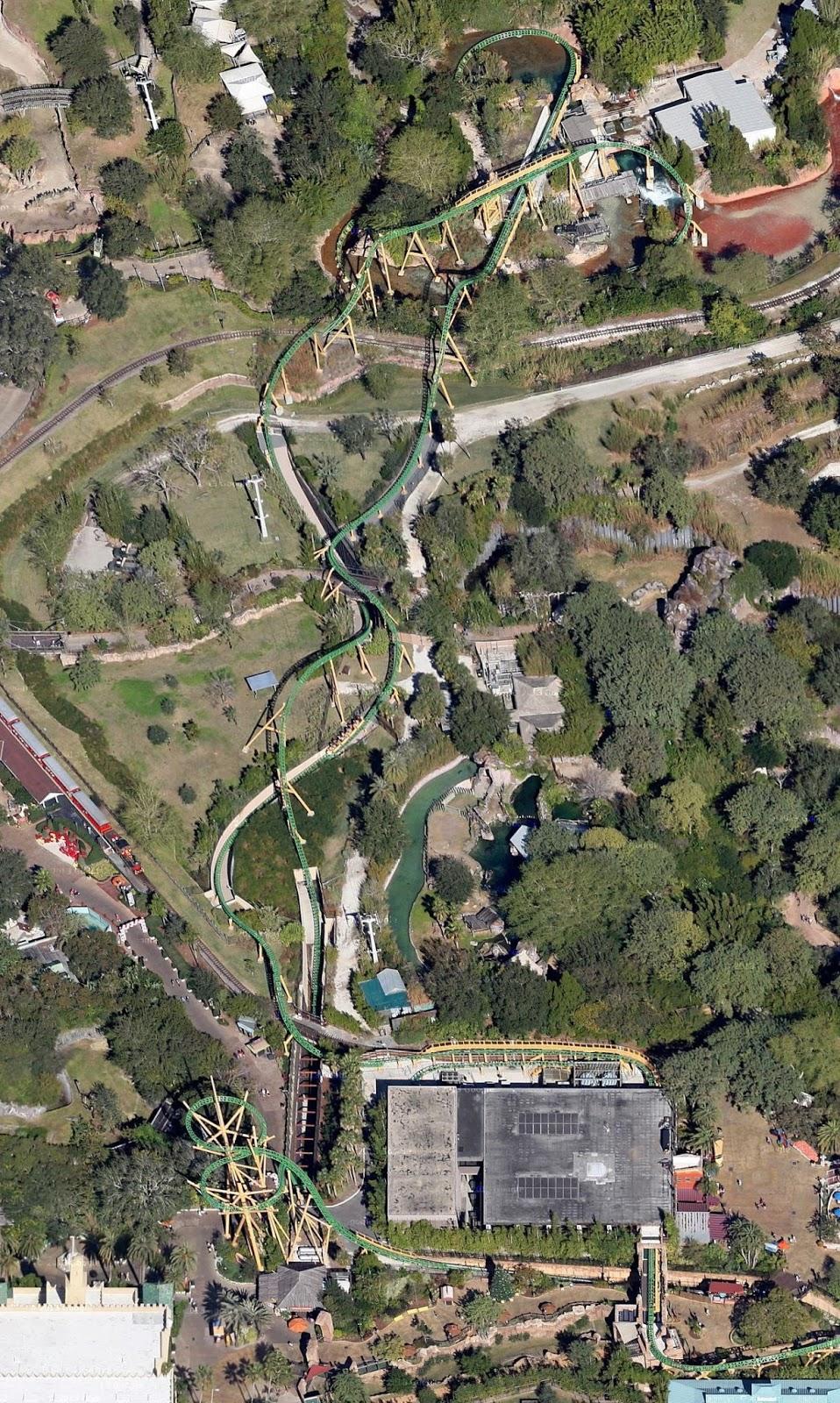 NewsPlusNotes Aerial Antics Cheetah Hunt At Busch Gardens Tampa - Hunting aerial maps