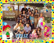 Como parte de nuestras actividades se celebro el día del niño a los alumnos . dia del niã'o