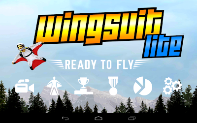 Wingsuit Lite: Launch screen