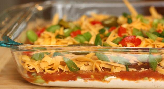 salsa cream cheese dip