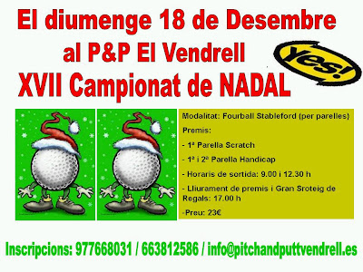 Torneig Nadal Yes P&P El Vendrell