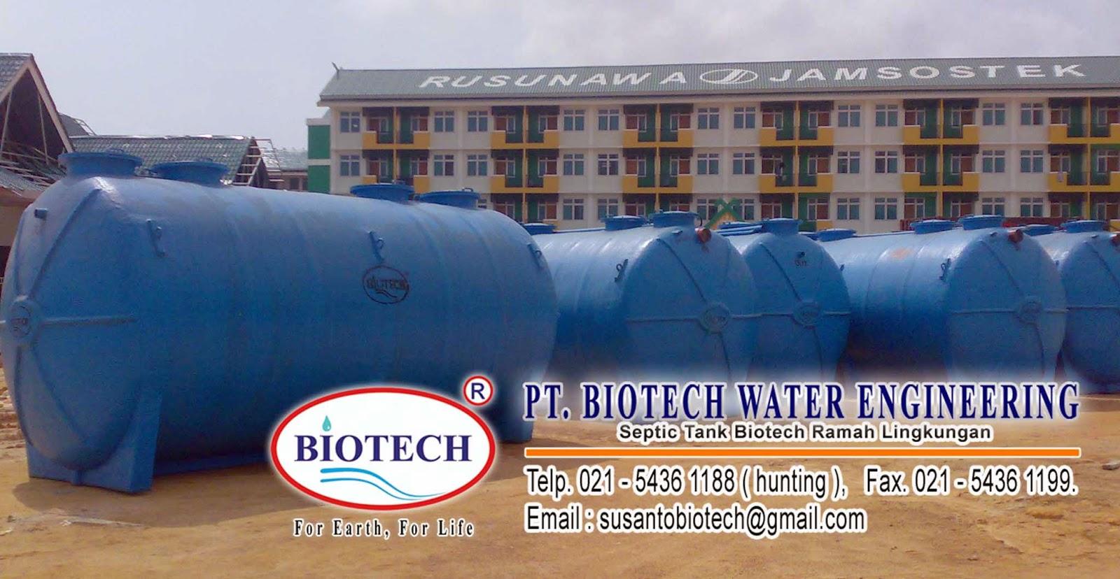 septic tank biotech modern, septictank ramah lingkungan