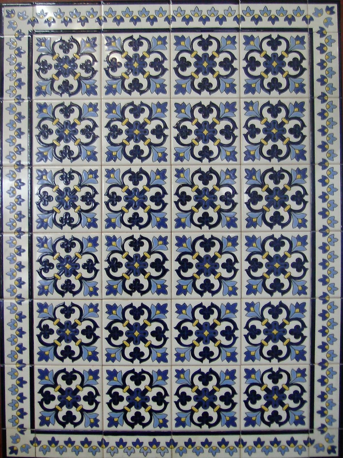 Elaboracion y decoraci n de guardas y cer micos - Tipos de azulejos ...