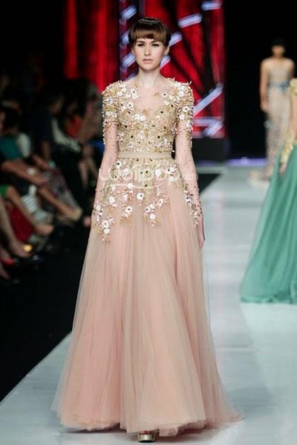 Kumpulan Foto Model Baju Kebaya Gaun - Trend Baju Kebaya 2017