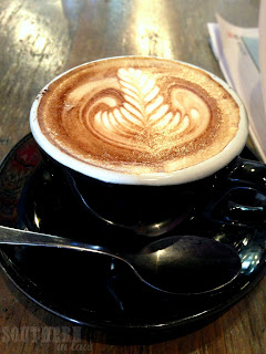 Third Village Cafe Review - Cappucino