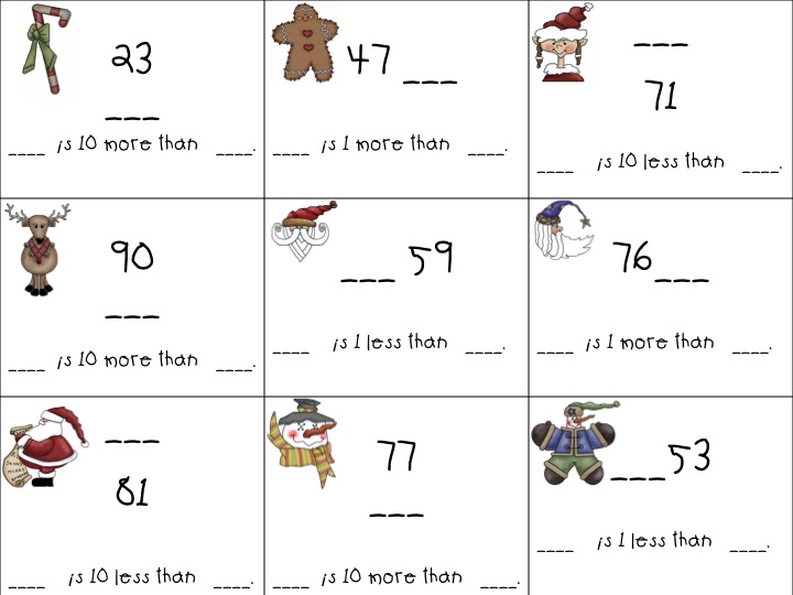 Common Worksheets 10 More 10 Less Activities Preschool and – 10 More 10 Less Worksheet