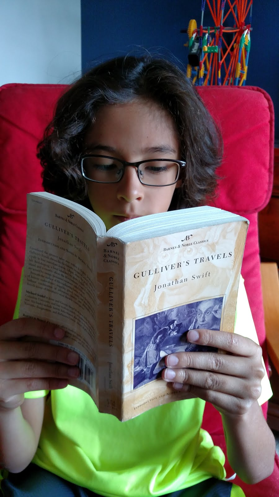Kai O reading: GULLIVER'S TRAVELS