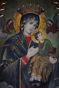 Obraz Matki Bożej Nieustającej Pomocy WYSOKIE PARAFIA ŚW. MICHAŁA ARCHANIOŁA