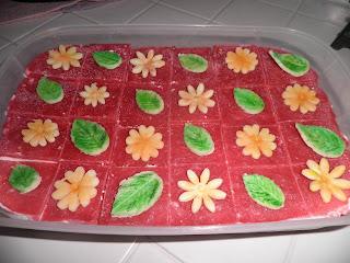 cheese-cake con gelèe di fragole