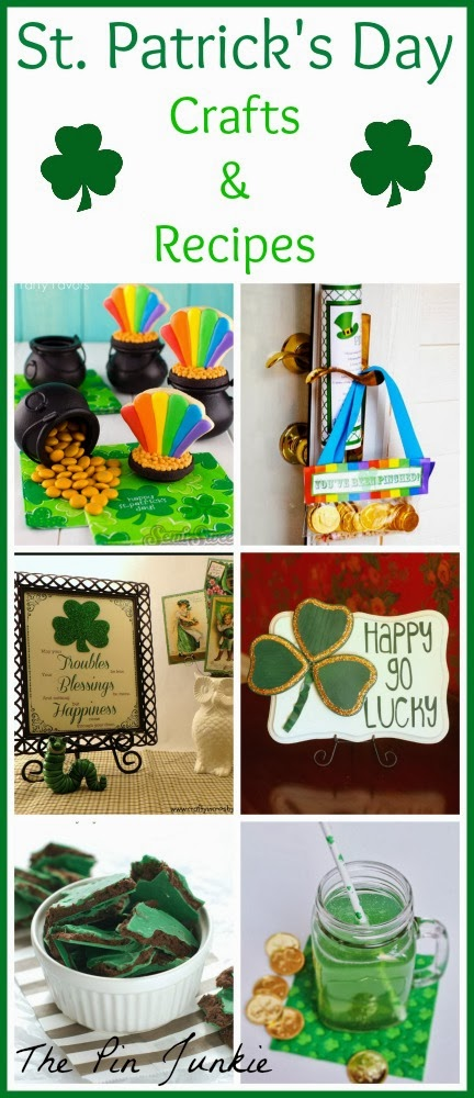 st patricks day crafts and recipes