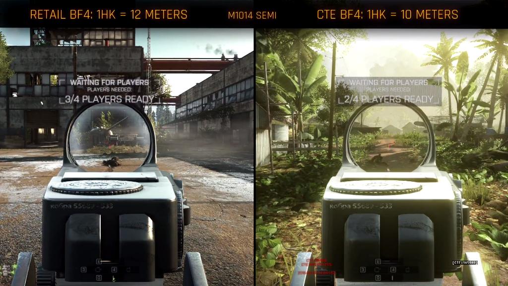 Shotguns foram nerfadas com a última atualização do Battlefield 4 CTE