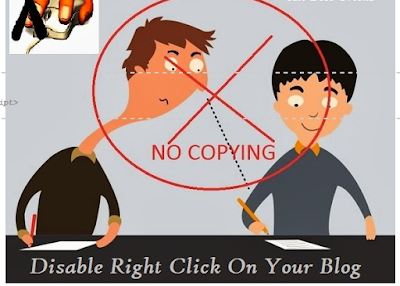 How To Disable Right Click With Message And Image On Your Blog