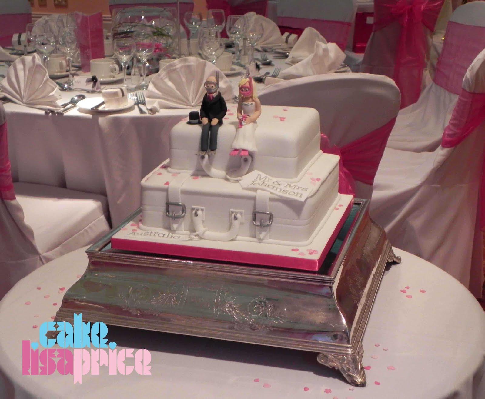 Suitcase Wedding Cake Price
