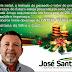 Mensagem de Natal, José Santana