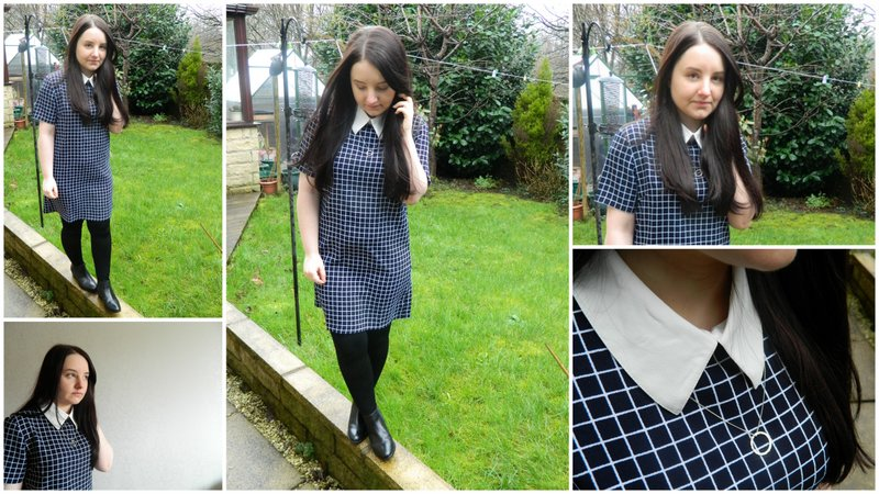 Review: Persunmall Classical Plaid Dress
