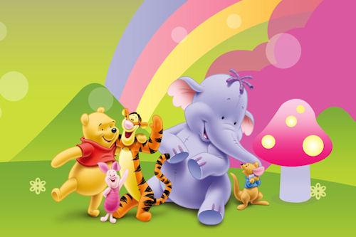 descarga estos lindos fondos de winni pooh directamente haciendo click