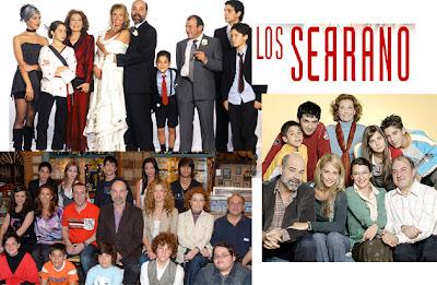 Actores de la serie de Telecinco Los Serrano