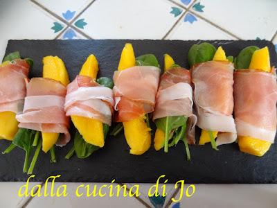 mazzetti di spinacini e... per un simpatico appetizer