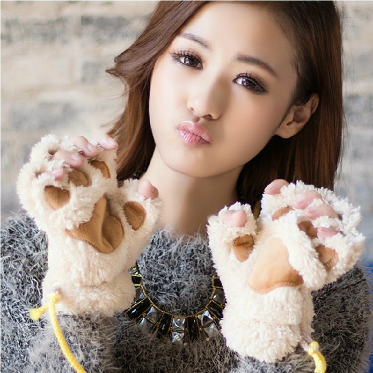 Girls new cat gloves 2015