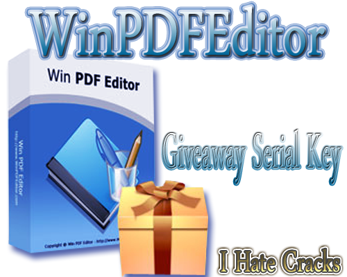 Get WinPDFEditor With Free And Legal License Key