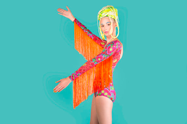 tassel body, louise omayony, bright prints