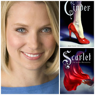 Marissa Meyer, Lunar Chronicles, Cinder, Scarlet, InToriLex