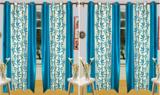 Groupon : Curtains at Buy 1 Get 1 FREE at Rs. 359 only