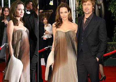 Vestidos da Angelina Jolie