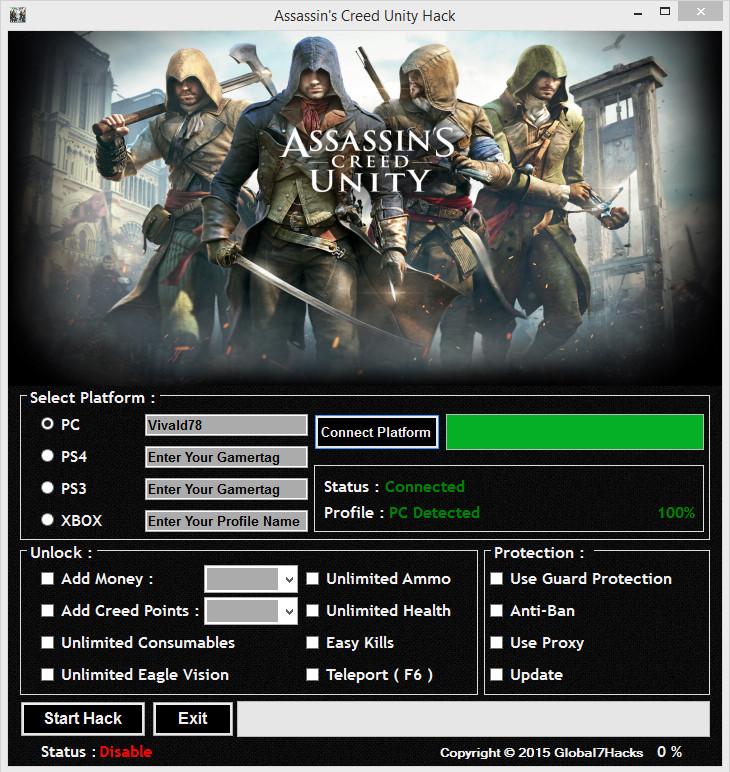 assassins creed unity apk hack