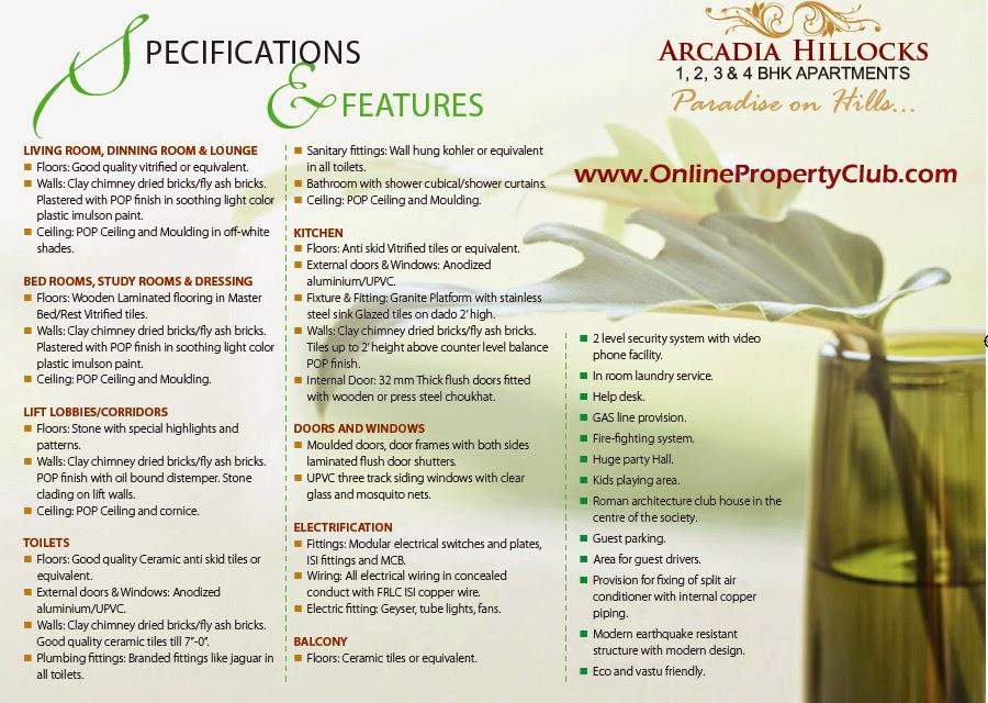 Arcadia Hillocks 1, 2, 3 & 4 BHK APARTMENTSMUSSOORIE ROAD, DEHRADUN