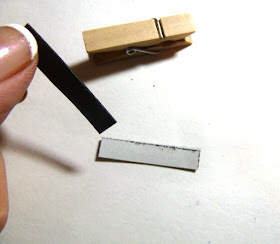 chalkboard clip magnets