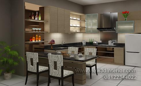 dapur minimalis dapur minimalis dan meja pantry minimalis