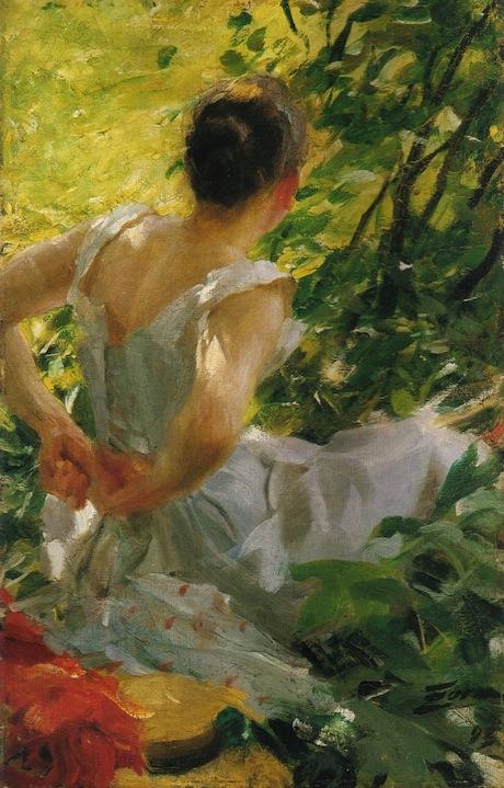 Art Talk - foredrag om kunst. Anders Zorn: Kvinna som klär sig, 1893