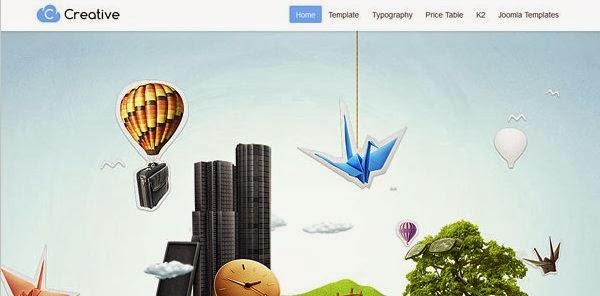 GK Creative v2.15 GavickPro Joomla Template For J2.5 J3.0 ...