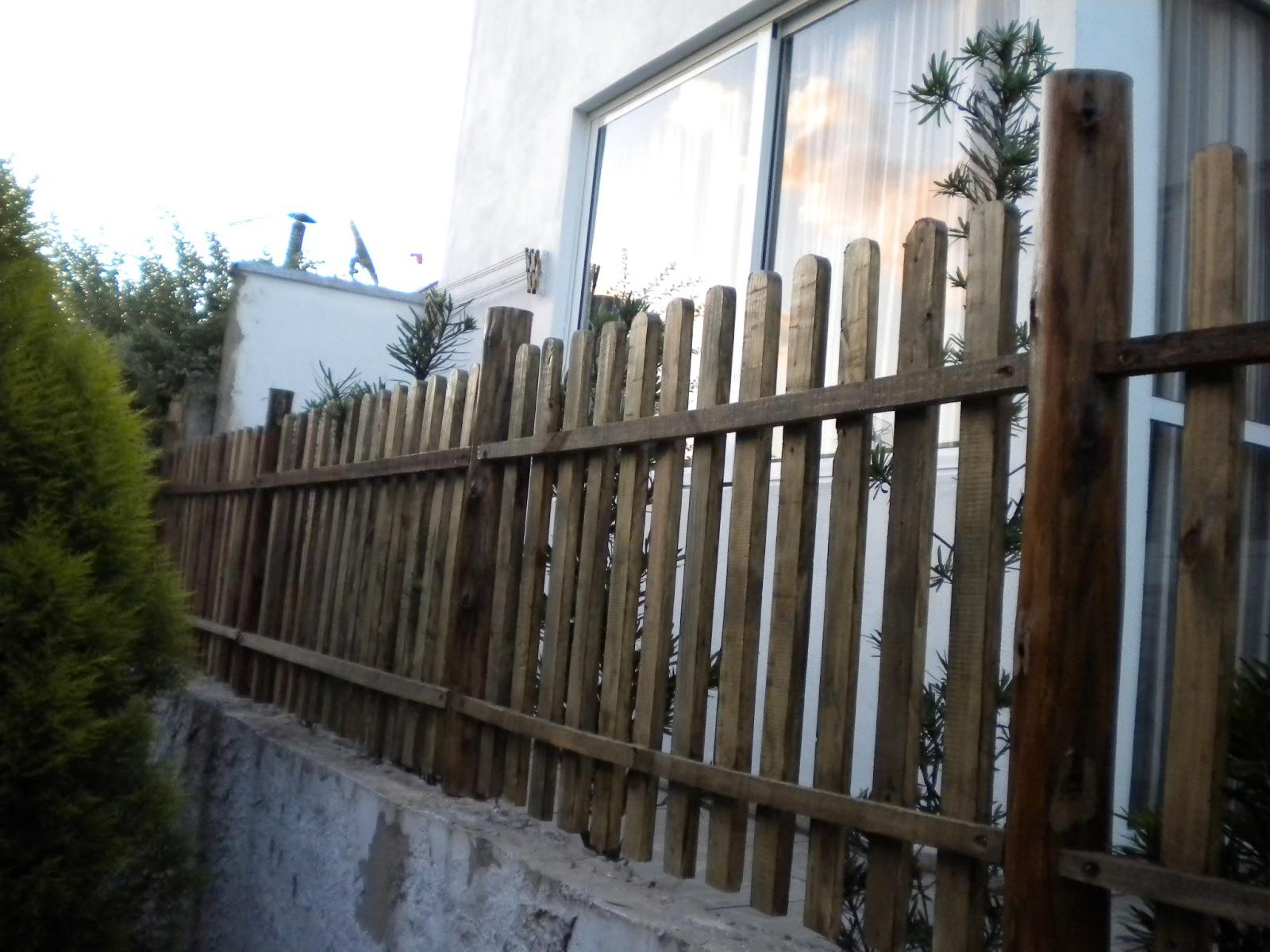 Cerca De Madeira Para Jardim 4 Pictures