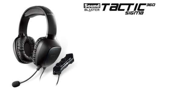 Sound Blaster Tactic360 Sigma