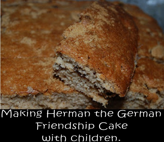 Herman German Friendship Cake Starter