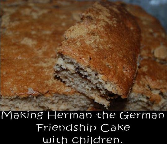 German Friendship Cake Starter Mix